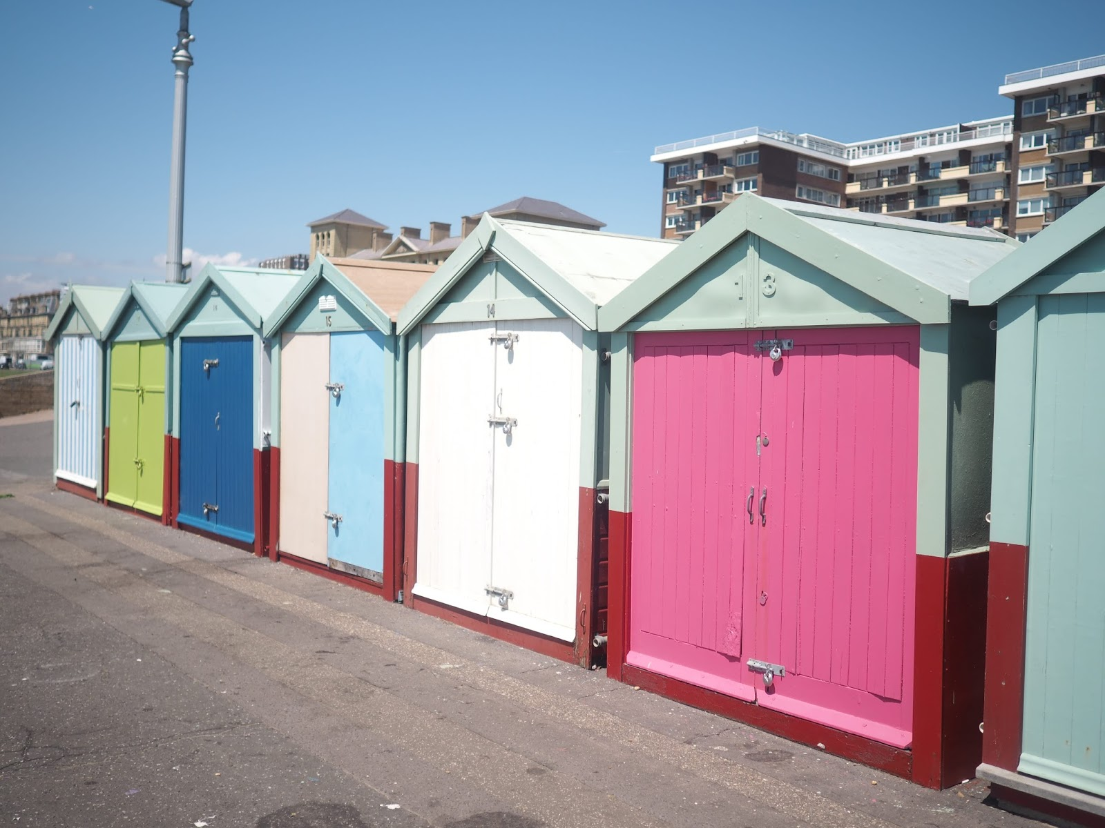 Brighton Hove beach huts