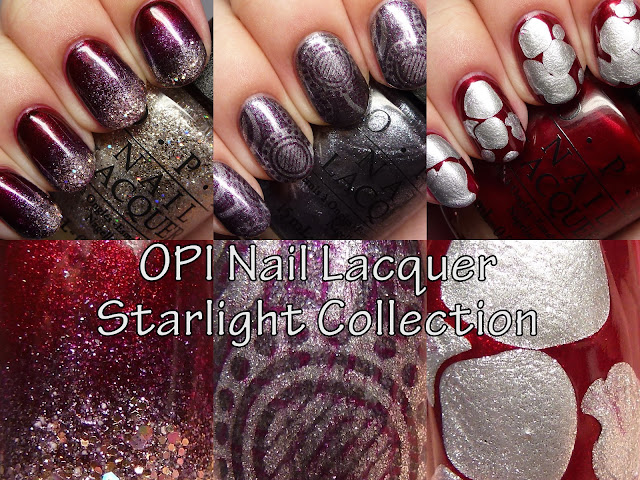 The Polished Hippy: OPI Nail Lacquer Starlight Collection Nail Art
