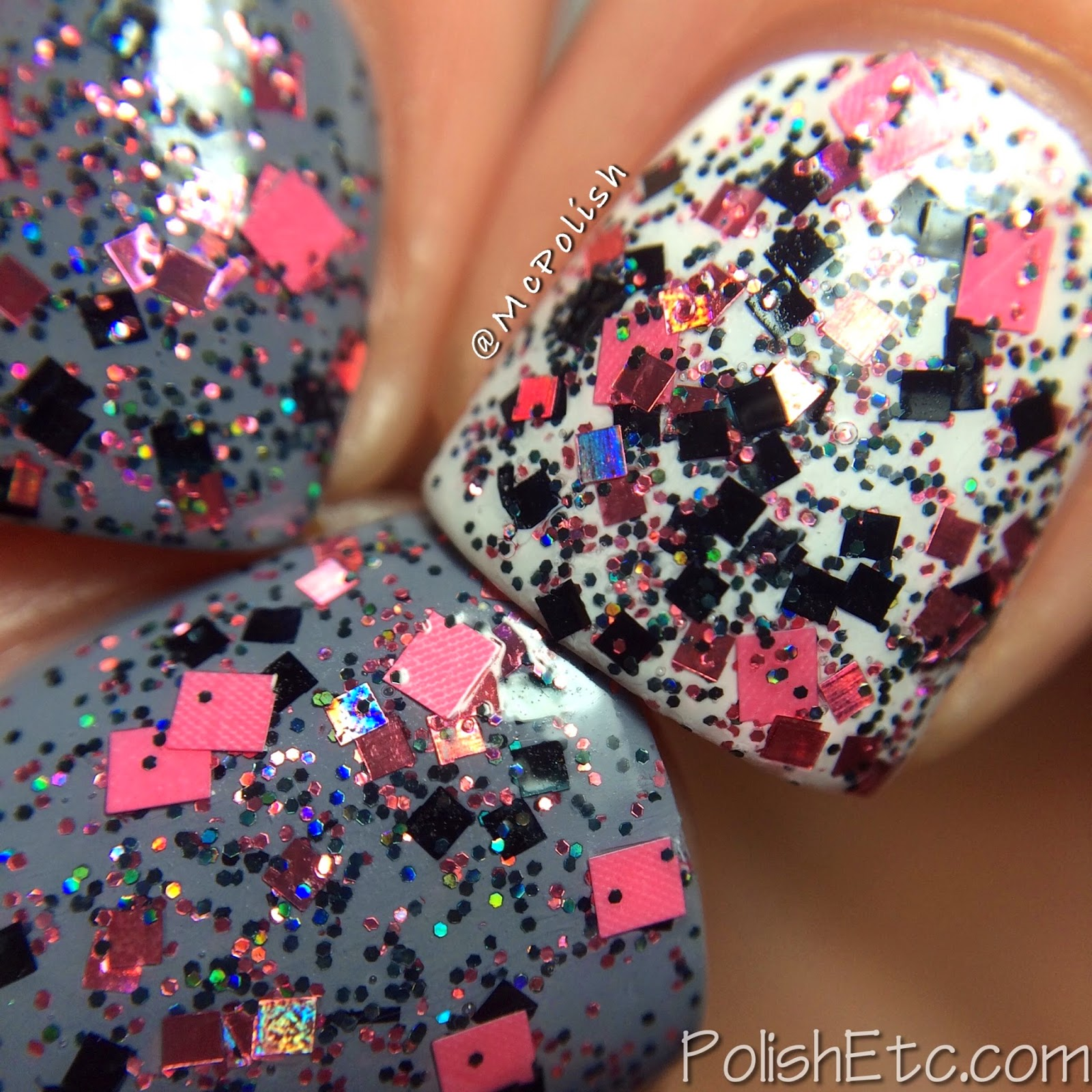 Nayll custom nail polishes - McPolish - Krissy - Macro