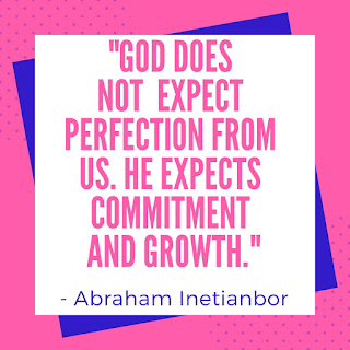 God expects growth