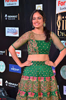 Nandita Swetha in a tight Green Choli Ghagra at IIFA Utsavam Awards March 2017 ~ 035.JPG