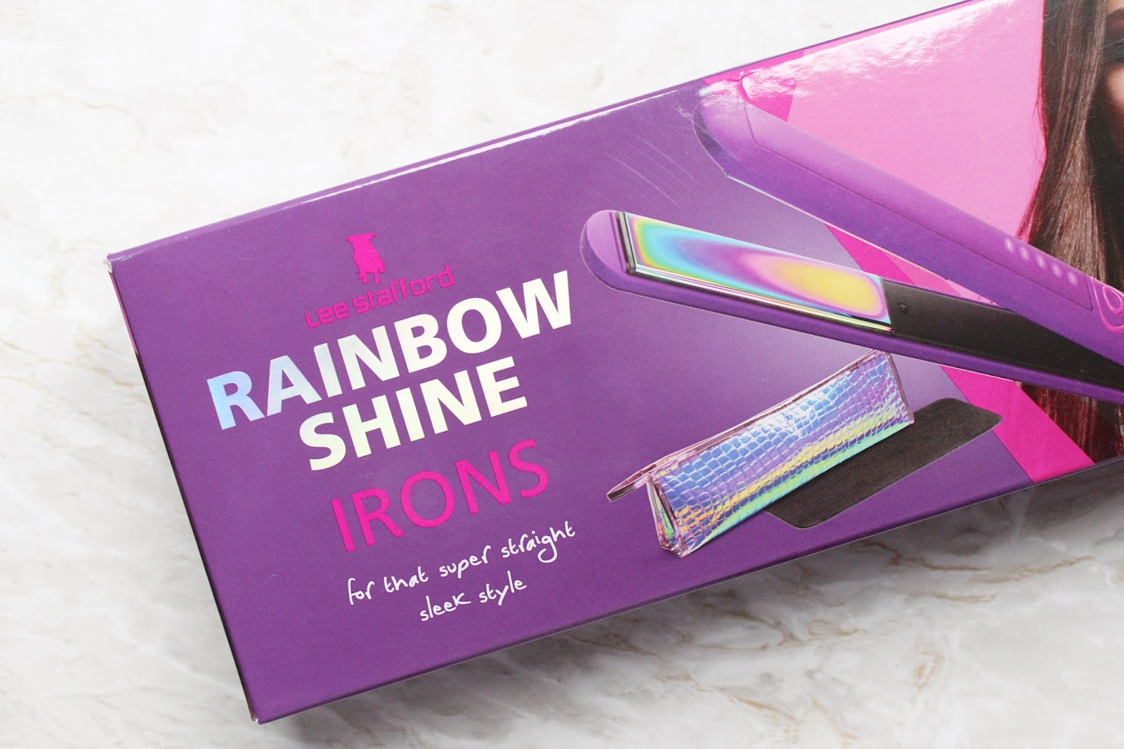 Lee Stafford Rainbow Shine Straightener Reviewed