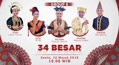 Liga Dangdut Indonesia Grup 6 Tadi Malam 12 Maret 2018