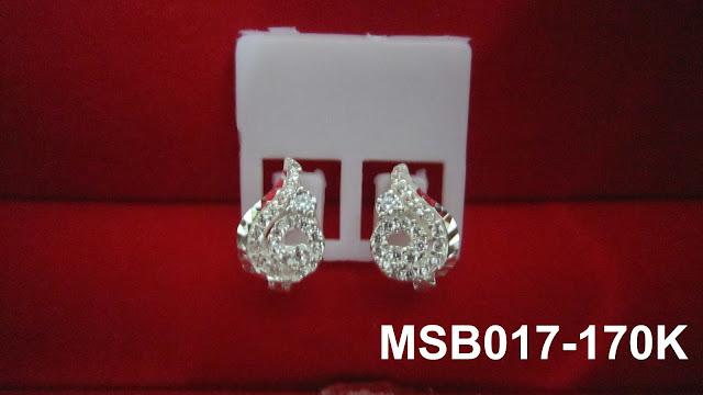 trangsuc.top - Bông tai kiểu phối đá trắng cao cấp MSB012 - Giá: 170,000 VNĐ - Liên hệ mua hàng: 0906   846366(Mr.Giang)