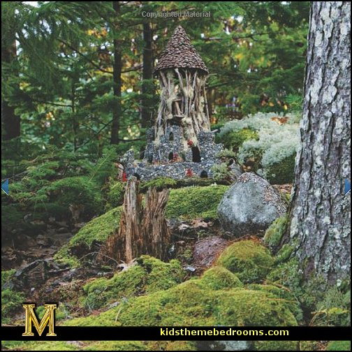 Magical Fairy Garden Designs: Decorating Theme Bedrooms