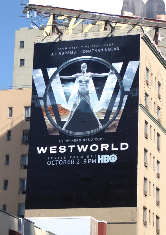 Westworld TV remake billboard