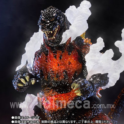 Figura Godzilla 1995 Ultimate Burning Ver. S.H.MonsterArts