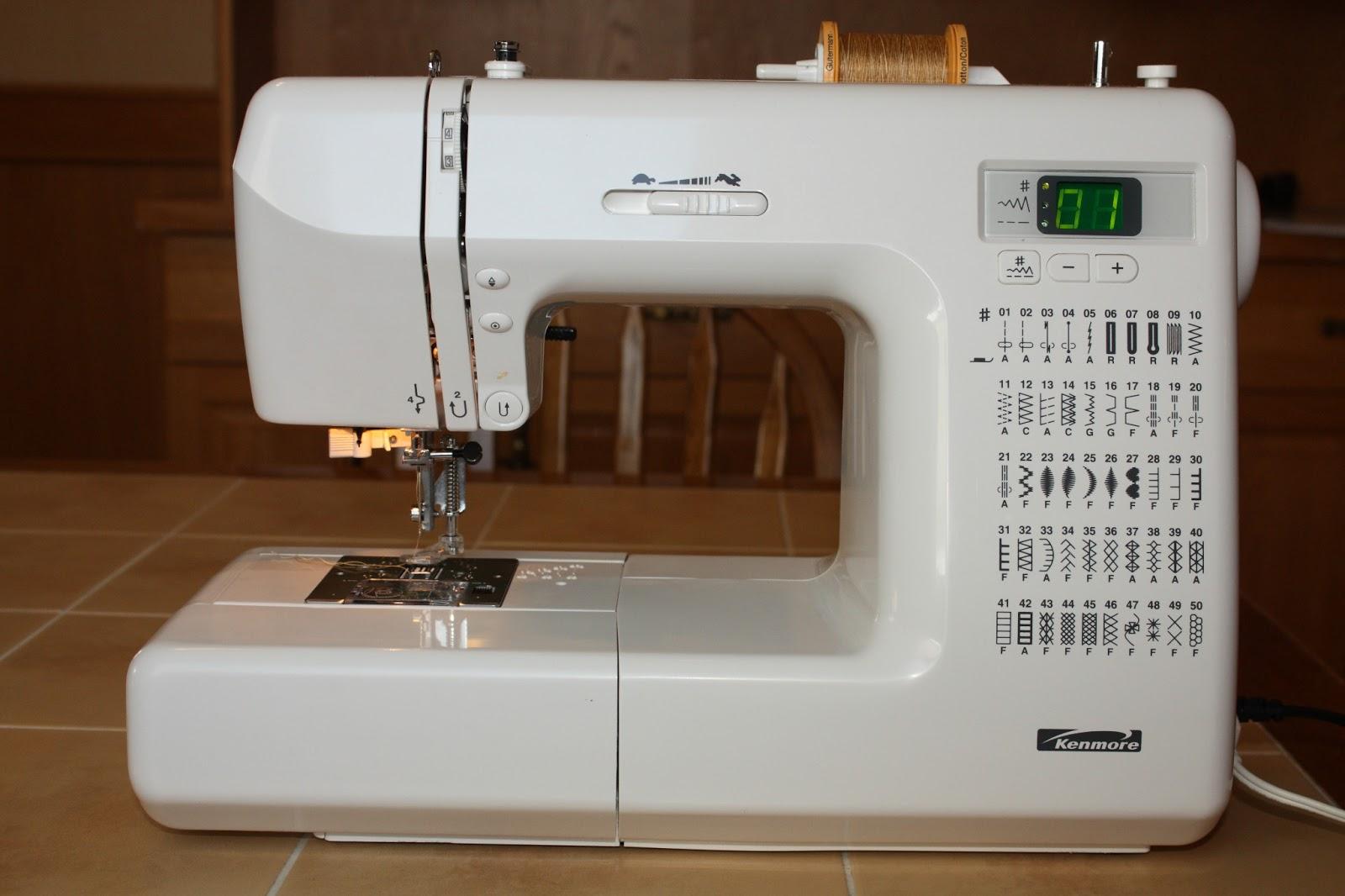 devoted quilter meet my machine rh devotedquilter blogspot com Kenmore Sewing Machine Parts Sears Kenmore Sewing Machine