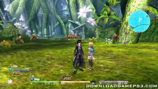 Sword Art Online Hollow Fragment - Download game PS3 PS4 RPCS3 PC free