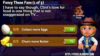 FV2CE, Eggs, Butter