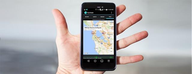 MyShake, Aplikasi Pendeteksi Gempa Bumi