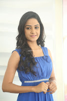 Divya Nandini stunning Beauty in blue Dress at Trendz Exhibition Launch ~  Celebrities Galleries 034.JPG
