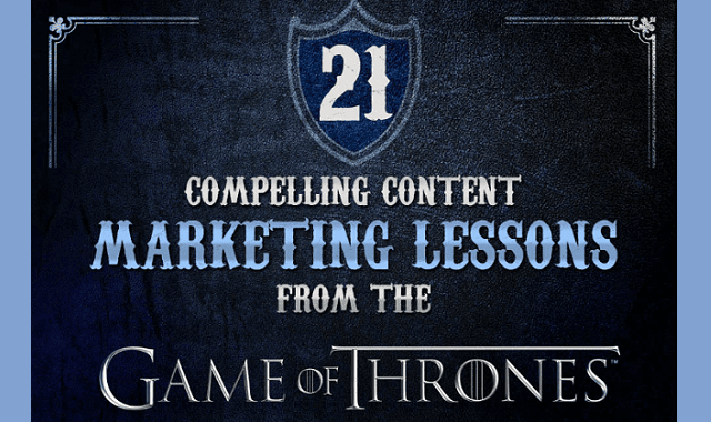 Content Marketing Lessons from the Game of Thrones