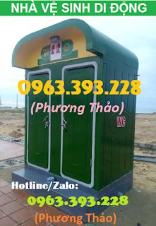 Bán Nhà vệ sinh di động giá tốt tại Hà Nội, nhà vệ sinh composite