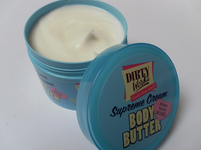 A picture of Dirty Works Supreme Cream Body Butter