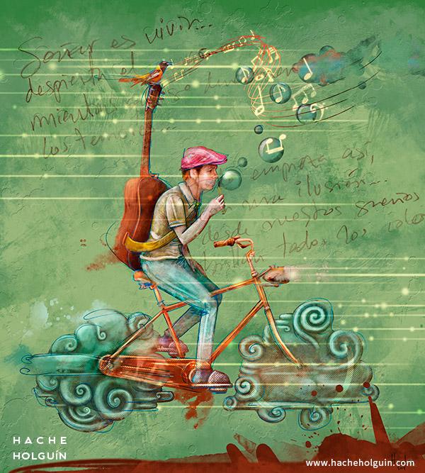 Ilustración Soñar es vivir