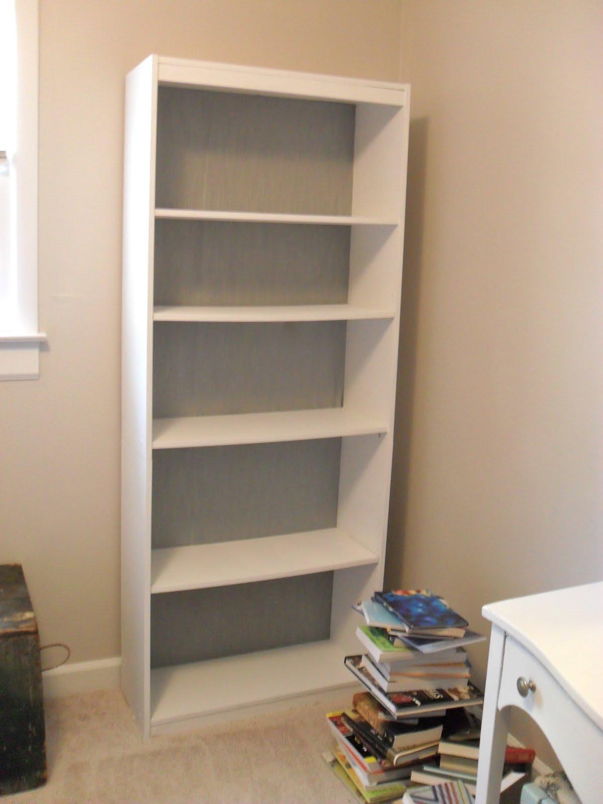 Painting Laminate Bookcase