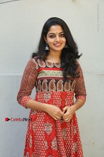 Telugu Actress Nikhila Vimal Latest Stills in Anarkali Dress  0003.JPG