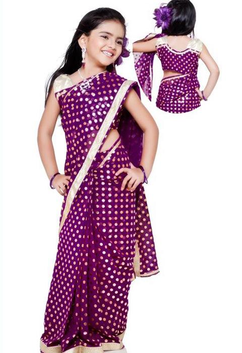 jual baju sari india anak