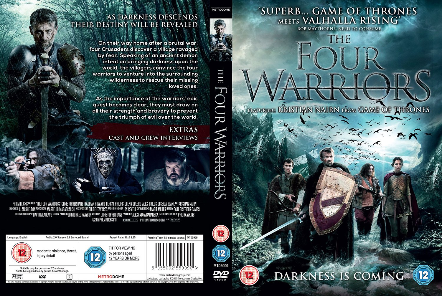 The Four Warriors Hindi Dual Audio Full Movie Download