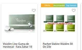 Alte produse gama Visislim comanda de aici Romania