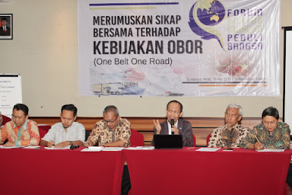 Forum Doktor Muslim : OBOR China, One Belt, One Road, One Threat