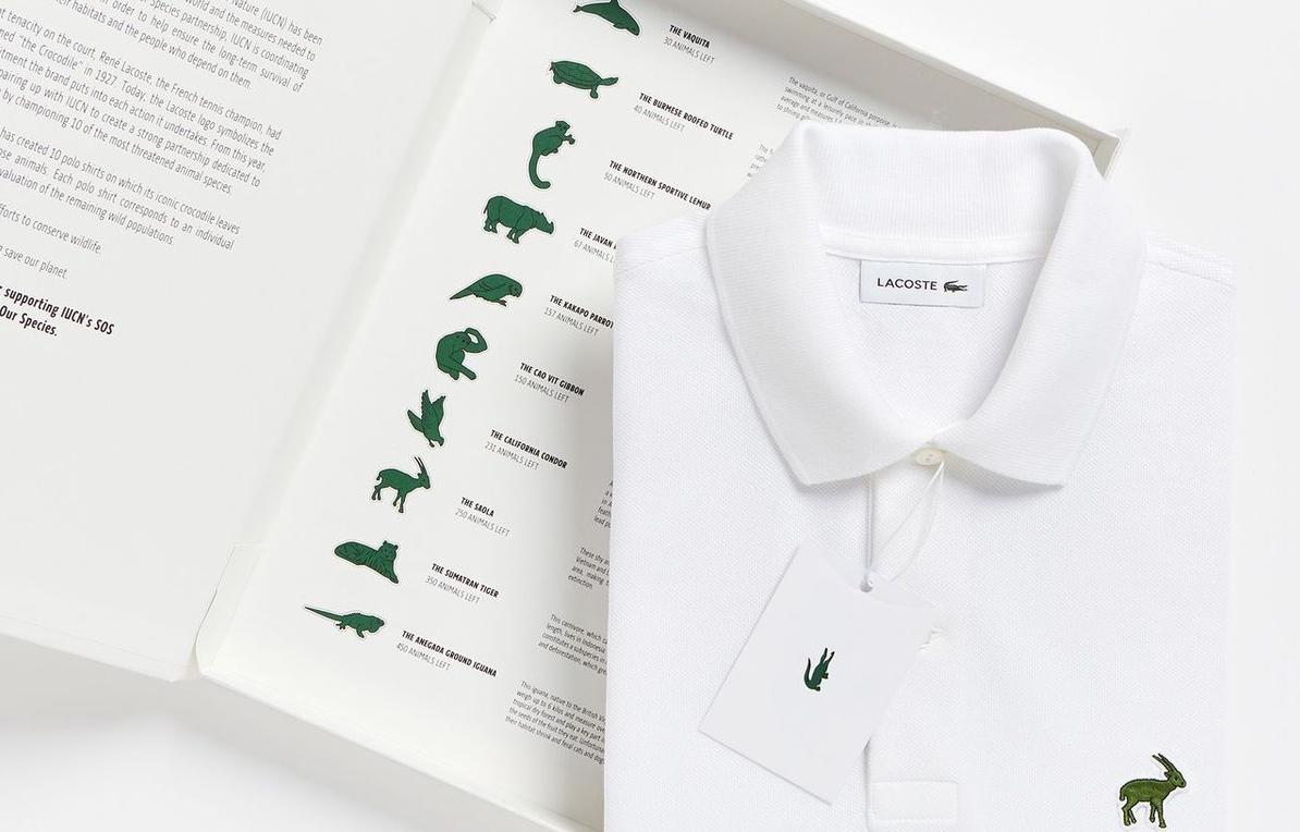 Fenomenale la nuova Polo Lacoste, quando la Moda Fashion è anche consapevolezza