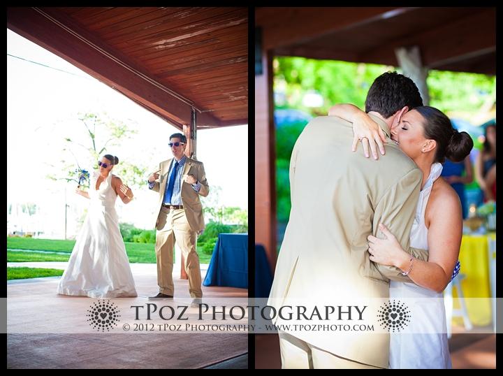 First Dance Port Annapolis Marina Wedding
