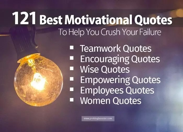 Top 121 Best Motivational Quotes