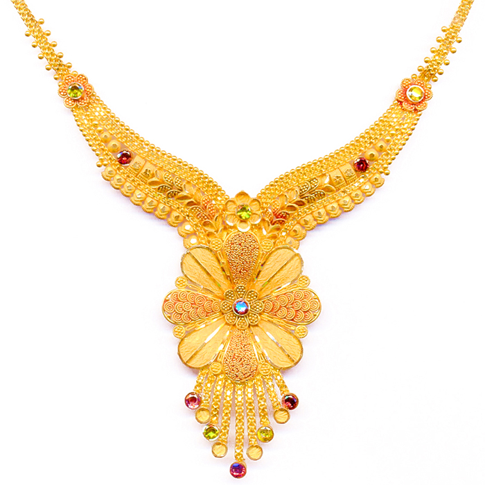Latest Indian Jewellery Designs 2015: Gold Jewellery