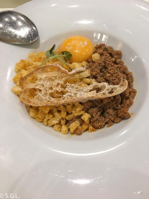 Migas en Restaurante Casa Ojeda de Burgos