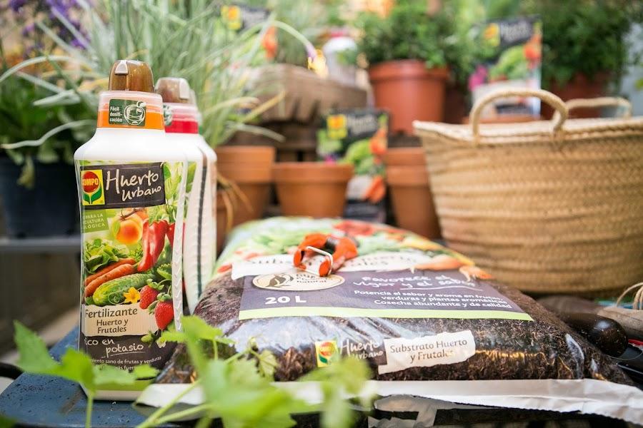 Fertilizantes y sustrato para tu huerto