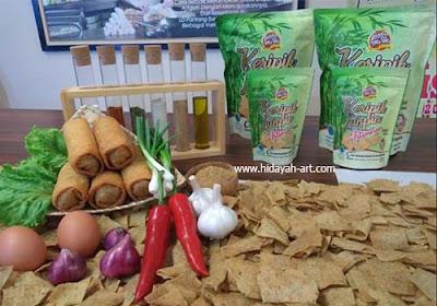 Inovasi Keripik Lunpia Cik Meme, Cita Rasa Kuliner Indonesia