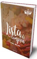 Capa do e-book Lista de Compras Low Carb Para Iniciantes
