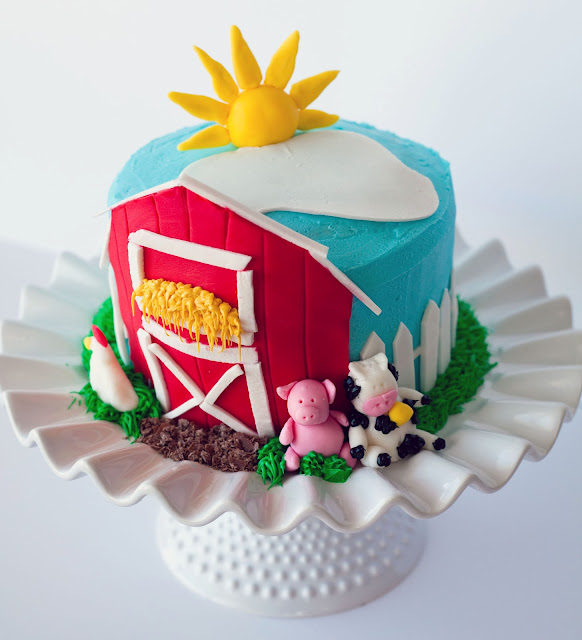 Farmyard Birthday Cake Uk