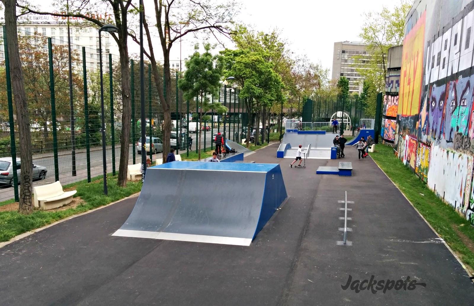 Le nouveau skatepark porte de vanves paris jackspots - Conforama porte de vanves ...