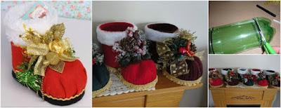 botas-navideñas-reciclaje