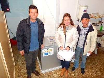 Με τρεις καταψύκτες ενισχύθηκαν Δασαρχεία της Ηπείρου στο πλαίσιο δράσης για την προστασία του Ασπροπάρη