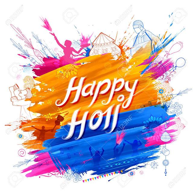 Happy Holi Background Images