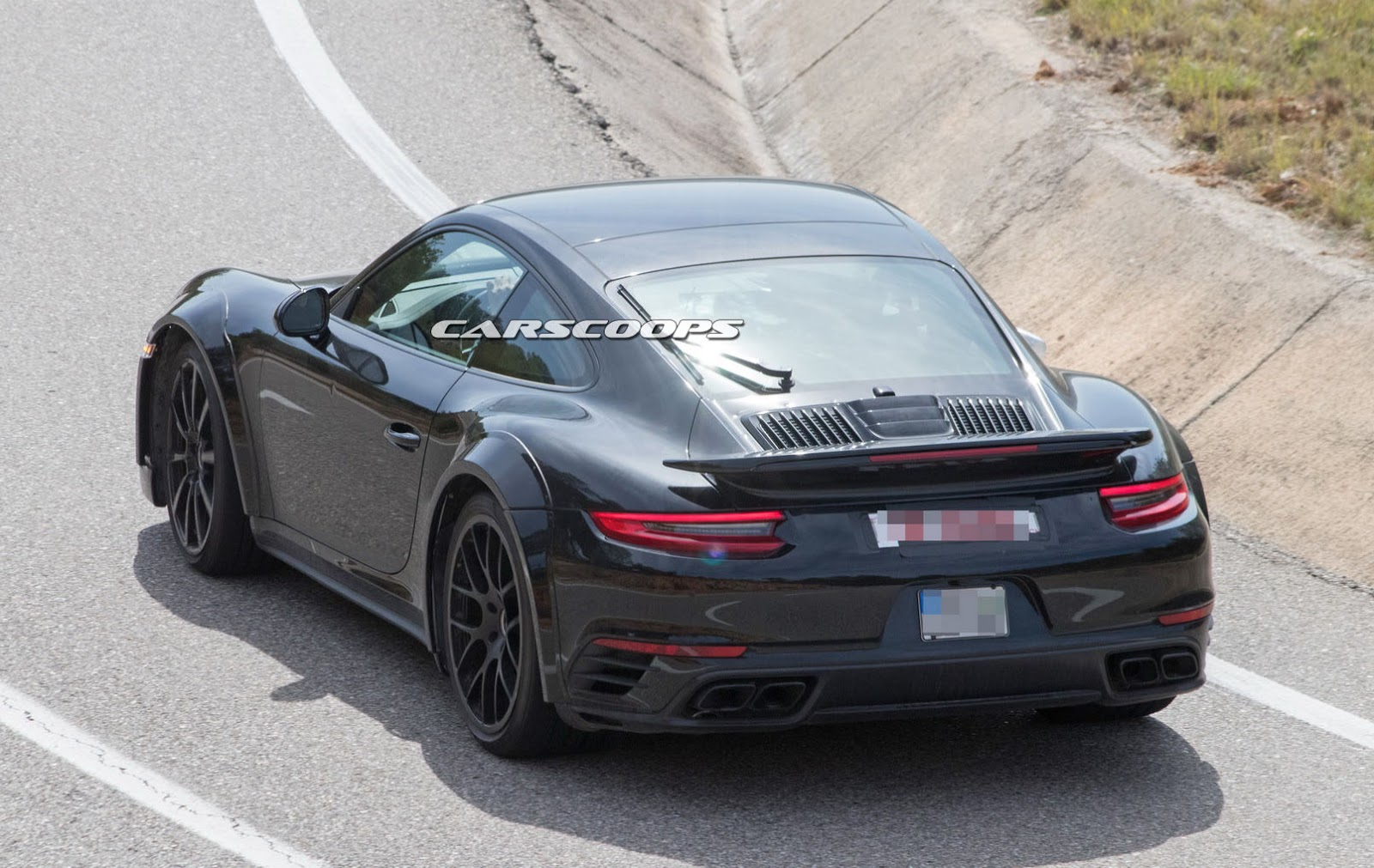 next gen porsche 911 turbo s could have 630 hp carscoops. Black Bedroom Furniture Sets. Home Design Ideas