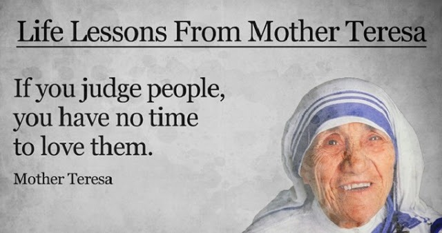 Lessons from Great mother theresa