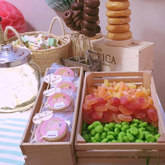 Mesa dulce Comunion - Caramelo sin chupar - La Comunion de Noa