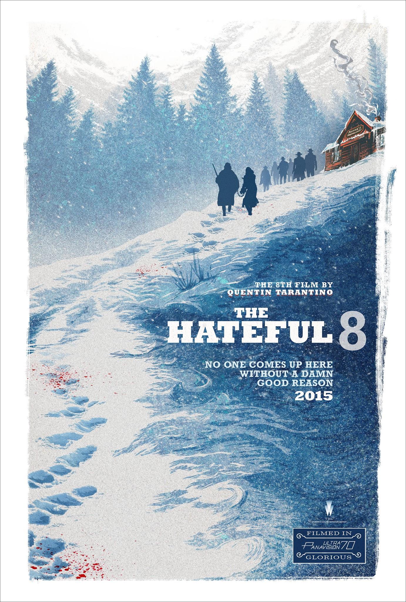 nienawistka ósemka film recenzja plakat quentin tarantino kurt russell