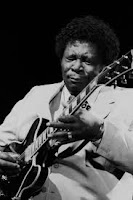 BB King, street performer, busker, busking, Beale Street, Blues Boy,