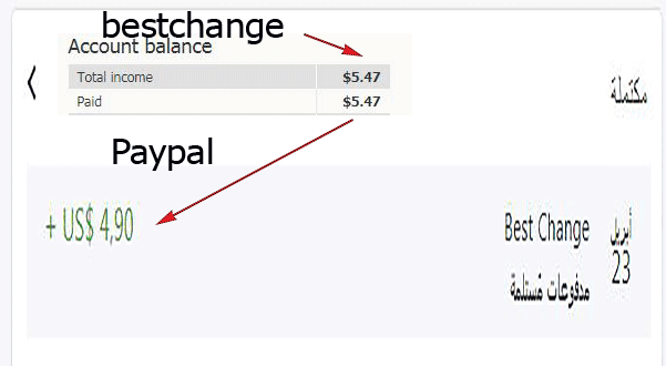 proof, payments, bestchange, exchange, btc, paypal