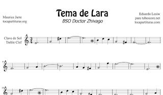 Tema de Lara Partituras gratis en las 3 claves Dr Zhivago Partitura Jpg Gratis