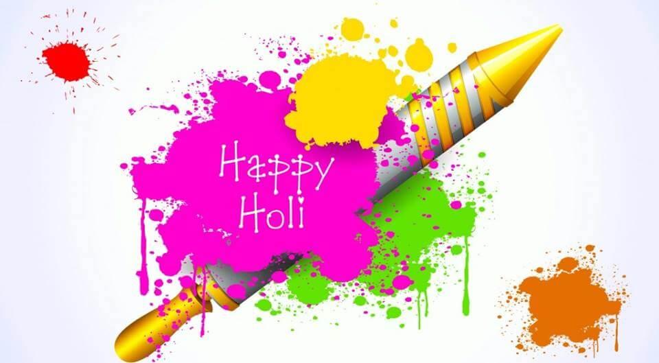 Funny Happy Holi SMS