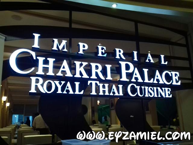 Buffet Ramadhan berkonsepkan makanan Thailand di Chakri Palace KLCC