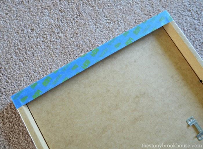 blue tape trick
