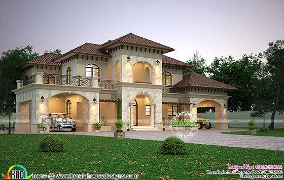 Elegant Mediterranean style villa